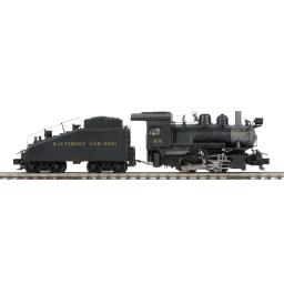 Baltimore & Ohio 0-4-0 Switcher Steam Engine w/Proto-Sound 3.0 (Scale Wheels)