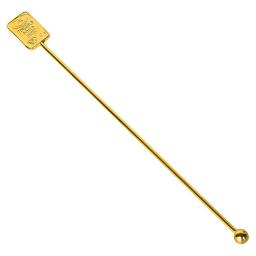 Swizzle Stick- Gold Bar