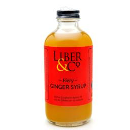 Liber & Co Fiery Ginger Syrup (8.5oz)