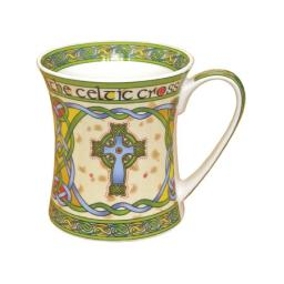 Mug: Irish Weave Celtic Cross