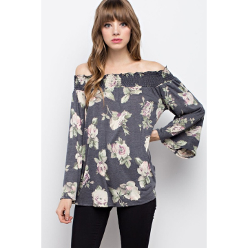 Oh So Fancy Floral Print Top