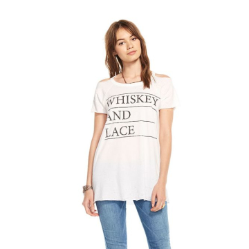 chaser whiskey & lace tee