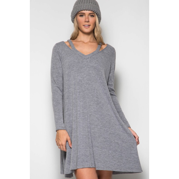 Chelsea Cut Out Sweater Dress