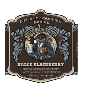Blind Squirrel 'Halle Blackberry' Imperial Porter 22oz