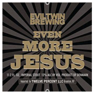 Evil Twin 'Even More Jesus' 16oz Can