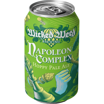 Wicked Weed 'Napoleon Complex' Pale Ale 12oz Sgl (Can)