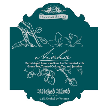 Wicked Weed 'Aicha' Barrel Aged Sour Ale 500ml