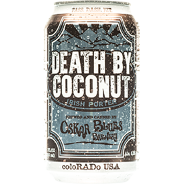 Oskar Blues 'Death by Coconut' 12oz Sgl (Can)