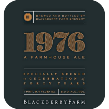 Blackberry Farm '1976' Farmhouse Ale 750ml