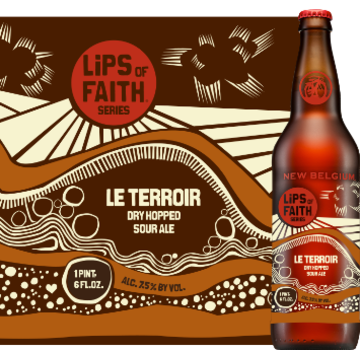 New Belgium 'Le Terroir' Dry Hopped Sour Ale 22oz