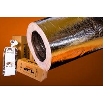 "MHP-25 Silver R4.2,  4"" x 25' Insulated Class 1 Flexible Air Duct (AFW)"