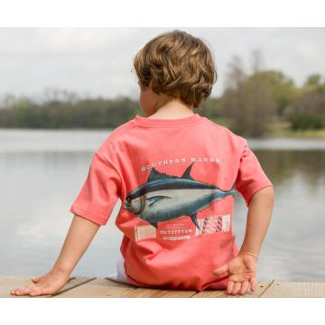 Southern Marsh Outfitter Collection - Tuna - Short Sleeve - Youth