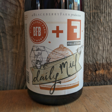 Blackberry Farm x Fullsteam 'Daily Miel' Rustic Farmhouse Ale 750ml