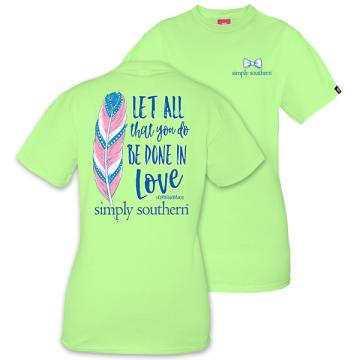 Simply Southern Prep Done In Love T-Shirt