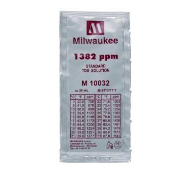 Milwaukee 1382 ppm TDS Solution, 20ml Per Unit
