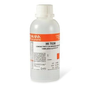 Hanna 12880 S/ cm Conductivity Solution, 230ml HI7030M
