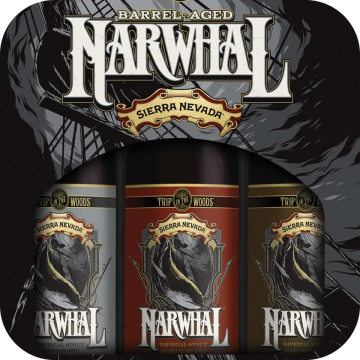 Sierra Nevada 'Barrel Aged Narwhal - Mixed Pack' 750ml (Box of 3)