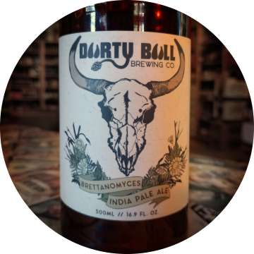 Durty Bull 'Brettanomyces IPA' 500ml