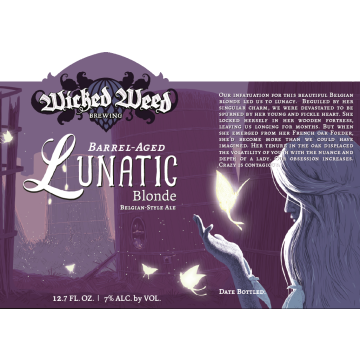 Wicked Weed 'Barrel Aged Lunatic' 375ml