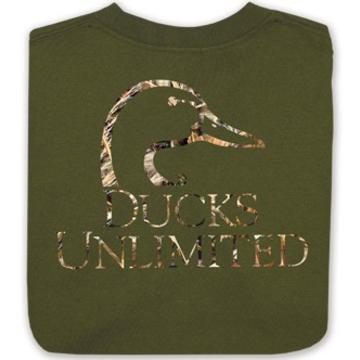 Ducks Unlimited Max 5 Camo Duck L/S