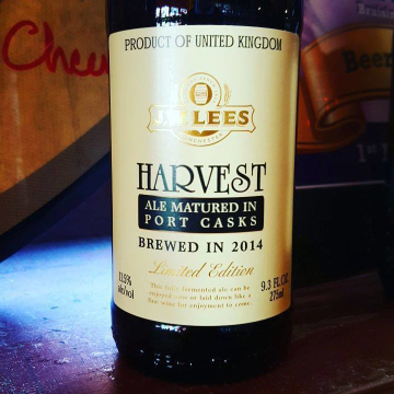 JW Lees 'Harvest Ale 2014 Vintage - Port Casks' 9.3oz