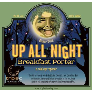 Triple C 'Up All Night' Breakfast Porter 22oz