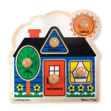 M&D Jumbo Knob Puzzle- First Shapes