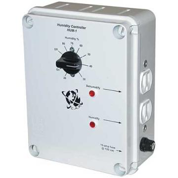 Humidity Controller, 15-Amp @ 120vac