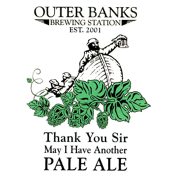 Outer Banks 'Thank You Sir May I Have Another' Pale Ale 16oz Sgl (cans)