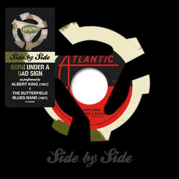 "Albert King/ The Butterfield Blues Band - Side by Side: Born Under a Bad Sign 7"" Colored Vinyl (RSD)"