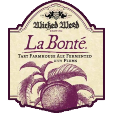 Wicked Weed 'La Bonte with Plum' 500ml