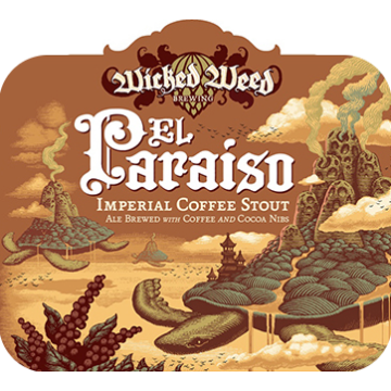Wicked Weed 'El Paraiso' Imperial Coffee Stout 500ml