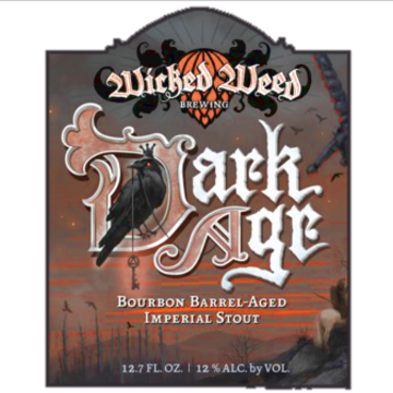 Wicked Weed 'Dark Age' Barrel Aged Imperial Stout 375ml