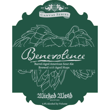 Wicked Weed 'Benevolence' 500ml