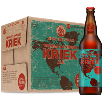 New Belgium x Boon 'Transatlantique Kriek - 2014' 22oz