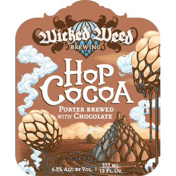 Wicked Weed 'Hop Cocoa' Chocolate Porter 12oz Sgl