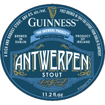 Guinness 'Antwerp' Imperial Stout 11.2oz Sgl