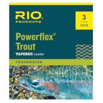 RIO Powerflex Leaders - 9ft 3-Pack