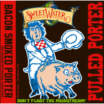 Sweetwater 'Pulled Porter' Bacon Smoked Porter 16oz Sgl (Can)