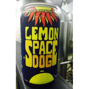 Asheville Brewing 'Lemon Space Dog' Wheat 12oz Sgl (Can)
