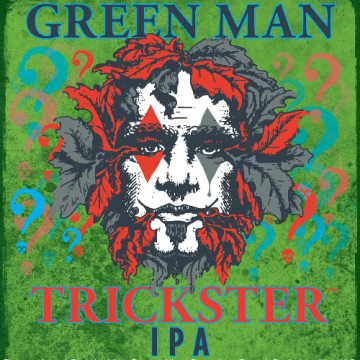 Green Man 'Trickster' Unfiltered IPA 12oz Sgl