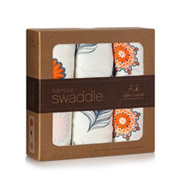 a+a Bamboo Swaddle Blankets_ Mela