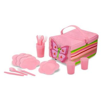 M&D Bella Butterfly Picnic Set