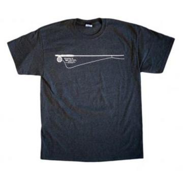 Big Sky Brewing Trout Slayer Rod & Reel T-Shirt - Logo'd