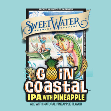 Sweetwater 'Goin Coastal' IPA with Pineapple 12oz Sgl