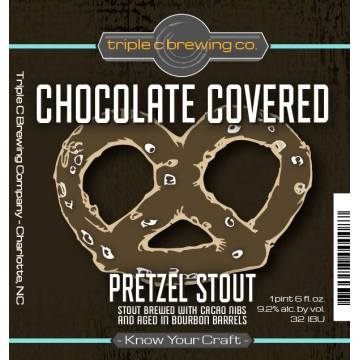 Triple C 'Chocolate Covered Pretzel' Stout 22oz