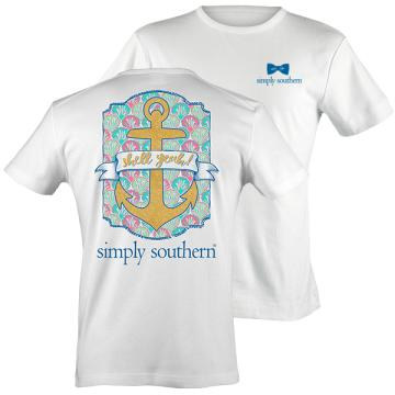 Simply Southern Prep Anchor Yeah T-shirt