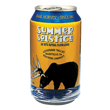 Anderson Valley 'Summer Solstice' 12oz Sgl (cans)