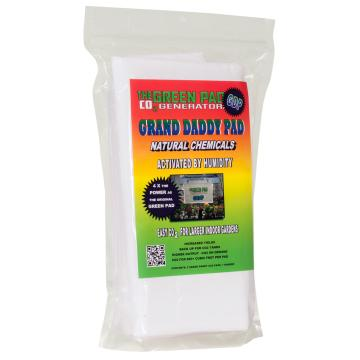 Green Pad CO2 Grand Daddy Pad, pack of 2 w/1 Hanger