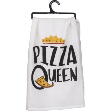 Pizza Queen Dish Towel